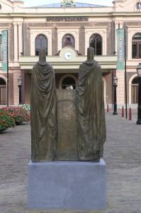 Onthulling van de Reizigers, Spoorwegmuseum, Utrecht
